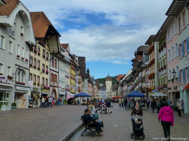 Kaiserstraße - Blick aufs Obere Tor