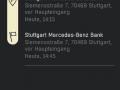Car2Go Black App Reservierungsdetails