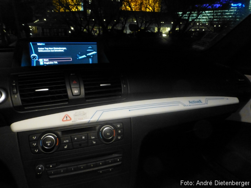 DriveNow ActiveE Berlin Innenraum