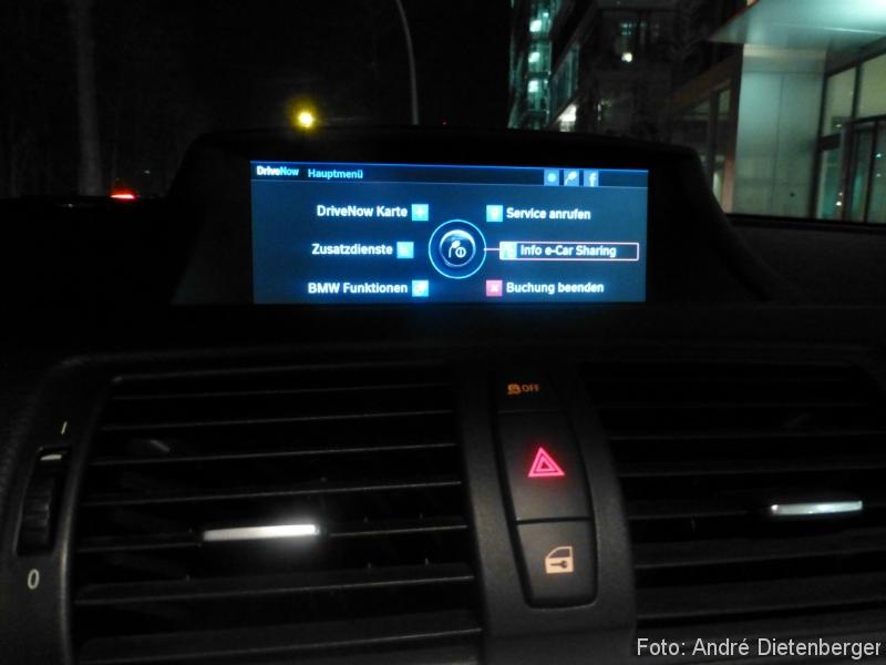 DriveNow ActiveE Berlin E-Car Info