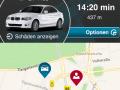 DriveNow ActiveE Berlin Handy App Reservierung Buchung
