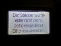 DriveNow ActiveE Berlin Fehler beim Laden