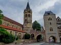 Eisenach - Nikolaikirche und Nikolaitor