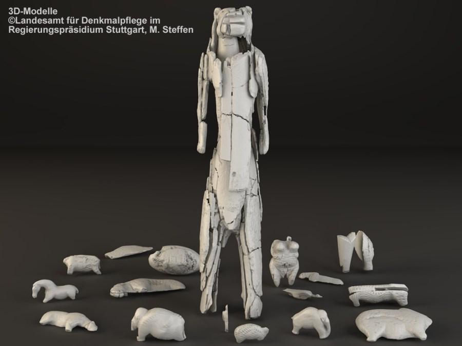 Figuren 3D-Modelle