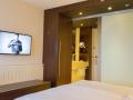 Bett und TV