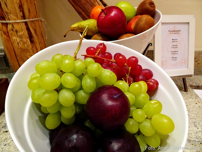 Grandhotel Petersberg - Früchte