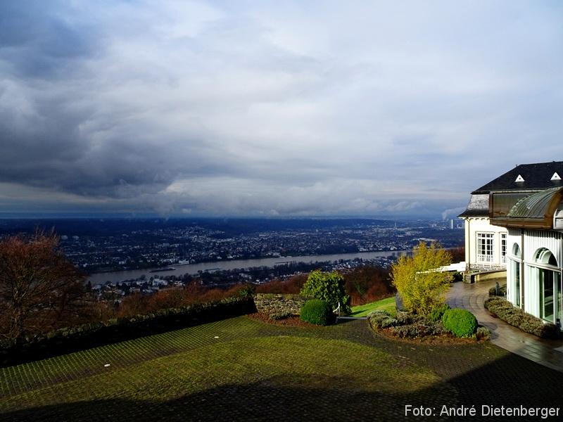 Grandhotel Petersberg - Ausblick vom Grandhotel