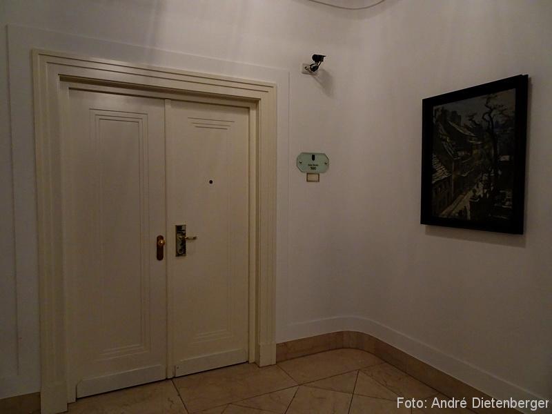 Grandhotel Petersberg - Eingang Präsidentensuite