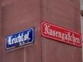 Straßenschilder in Mainz