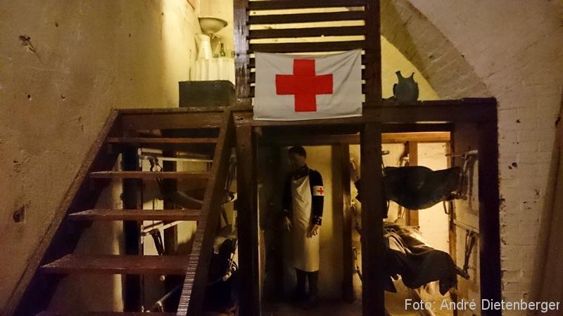 Verdun - Fort Vaux - Sanitätsstation
