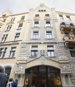 8: Ukens hotell – Neiburgs Hotel i Riga