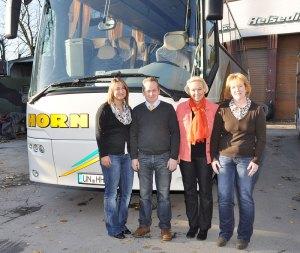 v.l. Isabell Pordzik, Thomas Horn, Carola Horn, Elke Büttner
