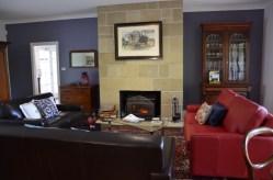 Livingroom mit Kamin