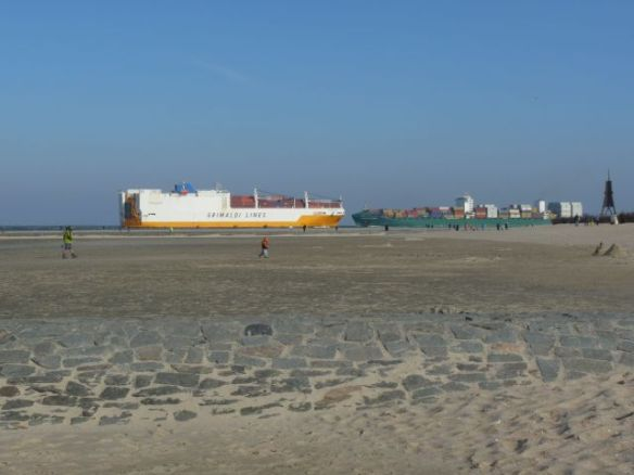 Ebbe bei Cuxhaven