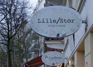 Ladenschild von Lille/Stor