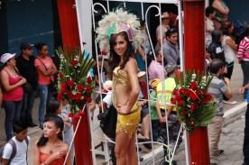Umzug Karneval Ecuador San Miguel Bolívar