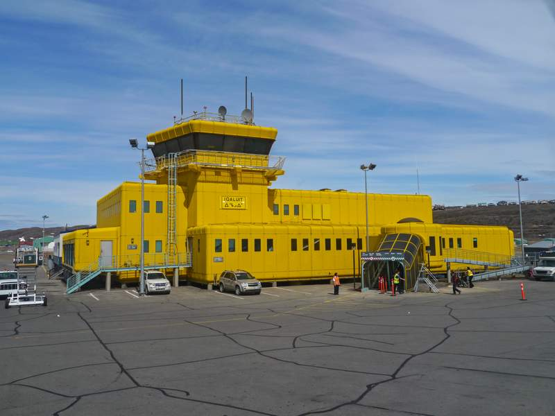 Flughafengebäude Iqaluit