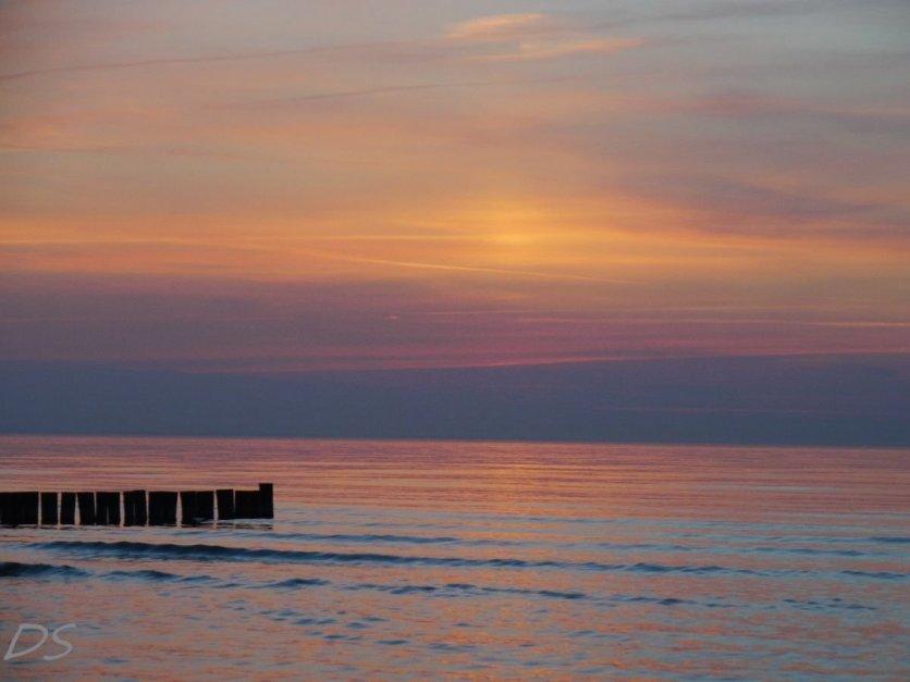 Sonnenuntergangspanorama vor Poel