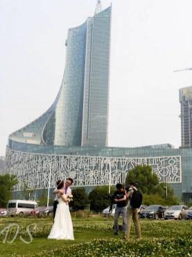Aufstrebende Architektur für aufstrebendes Liebesglück