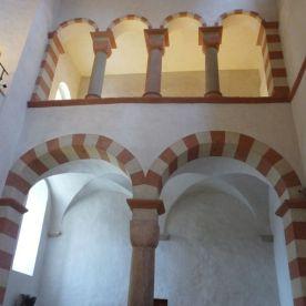 Die Engelgalerie in der Michaeliskirche