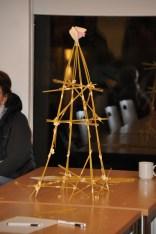 Wer baut den höchsten Spaghetti-Turm