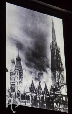 Geschichte im Bild: Als dieses Dach im Krieg einstürzte