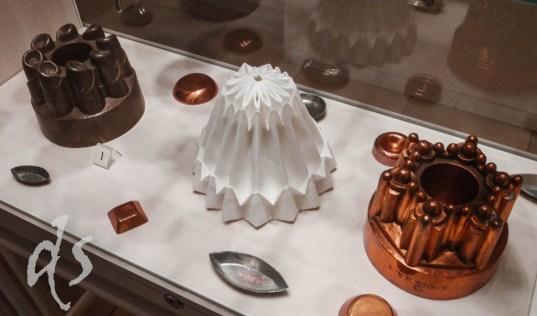 Die historischen Kuchen- und Puddingformen findet man in der Hofburg