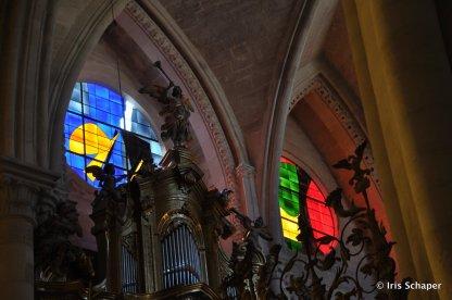 Fenster Kathedrale Cuenca4