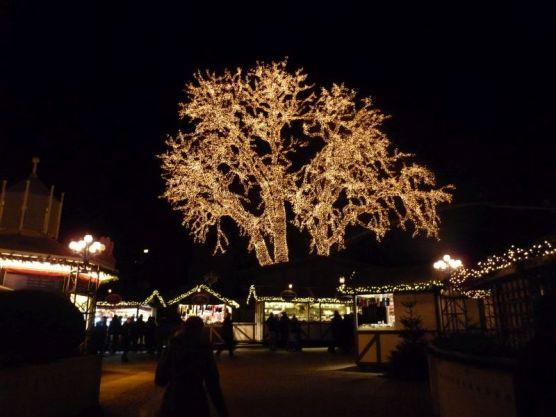 Der Vergnügungspark Liseberg wird im Dezember zum Winterwunderland