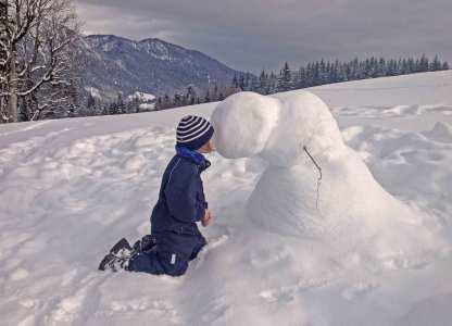 Schnee-Mann