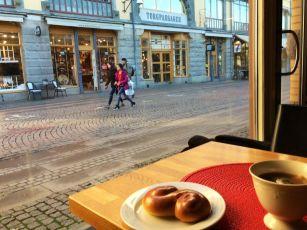 Blick aus dem Café Jerkstrands