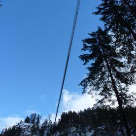 Höhenangst zählt nicht: Hängebrücke highline 179