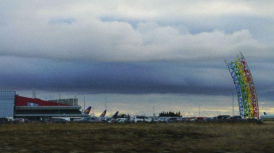 Flughafen Keflavik - Verbindung in die Welt