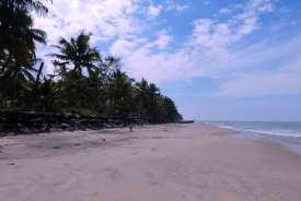 Tourisrisch erschlossen ist der Strand von Thaikkala nicht