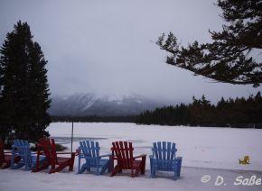 Jasper National Park - Sessel am See