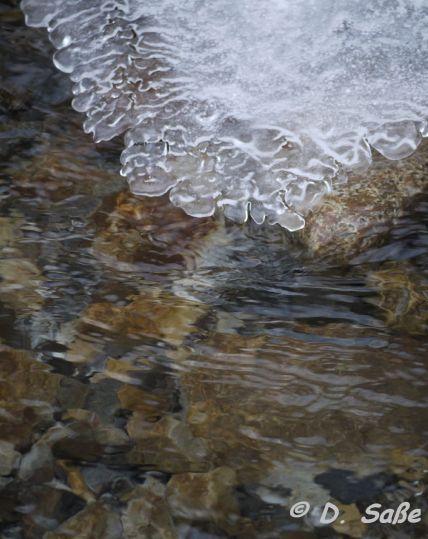 Tauende Eisplatte, malerisch