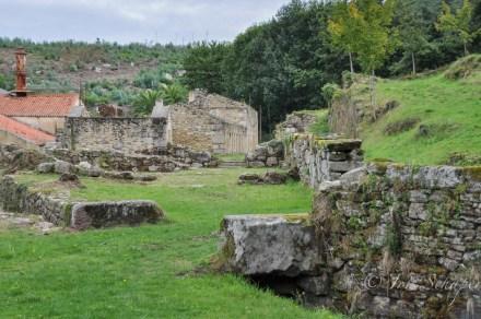 Ruinen Fabrik Sargadelos