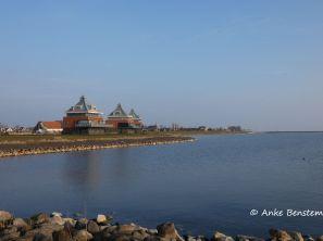 Das Leuchttumhaus am IJsselmeerufer