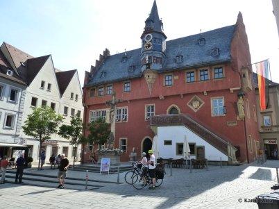 Rathaus Ochsenfurt. Kura