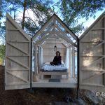 72 Hour Cabin: Im Glashaus schlafen