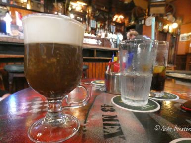 Ein Muss: Irish Coffee