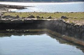 Noch immer funktionieren die alten Thermalbecken aus der Römerzeit