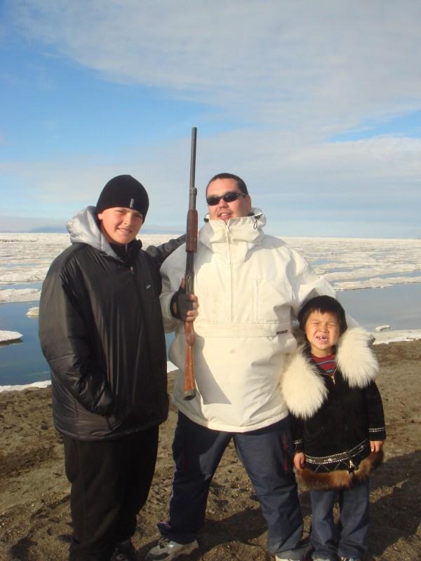 Alaska, USA; Barrow, Eis