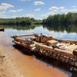 Schweden: Mit dem Floß auf dem Klarälven