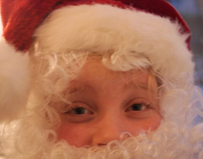 Weihnachtsgesicht