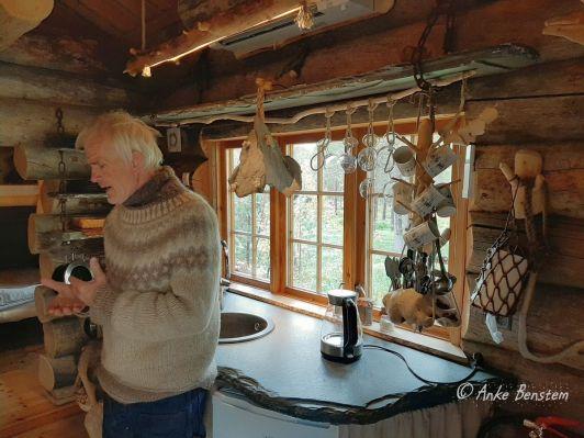3 Engholm Husky-Lodge Norwegen Finnmark Benstem Reisefeder