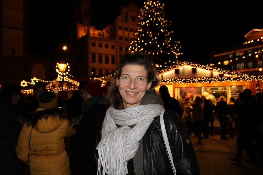 Engel, Augsburg, Rathaus, Weihnachten