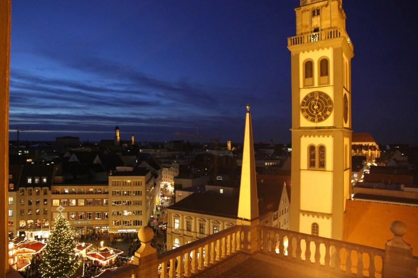 Engel, Rathaus, Augsburg