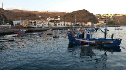 Fischerhafen Playa Santiago. Karin Kura