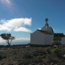 Reisefeder La Gomera Karin Kura Kapelle
